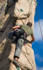 Climbing pitons